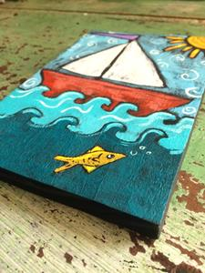 Detail Image for art Sail Away