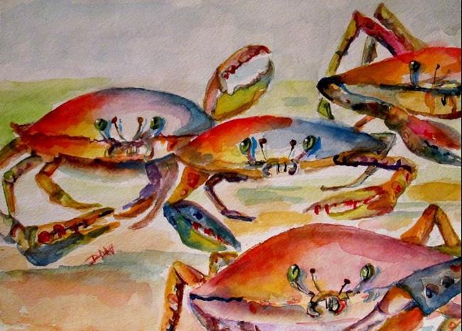 Art: Crab Crawl by Artist Delilah Smith