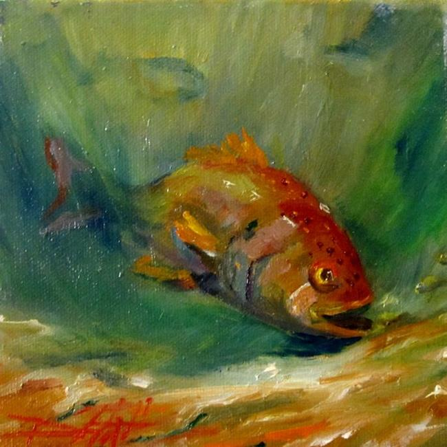 Art: Red Snapper by Artist Delilah Smith