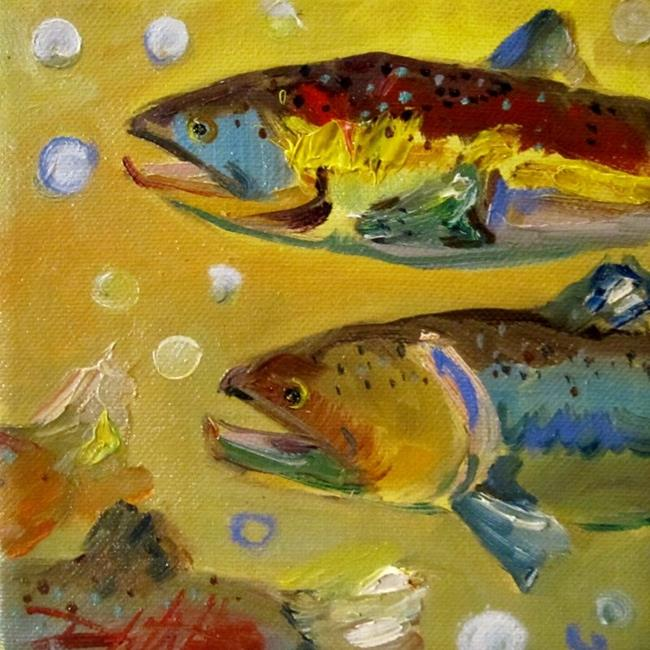 Art: Group Swim by Artist Delilah Smith