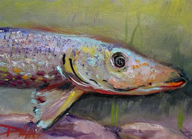 Art: Northern Pike by Artist Delilah Smith