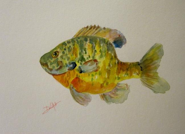 Art: Blue Gill-SOLD by Artist Delilah Smith