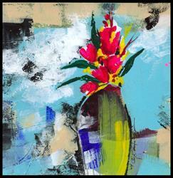 Art: Floral 10 by Artist Kathy Morton Stanion
