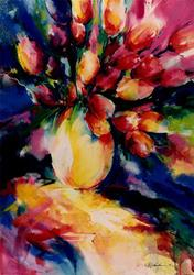 Art: Tulips by Artist Kathy Morton Stanion