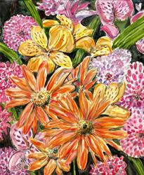 Art: Impression Spring Bouquet 1 by Artist Melinda Dalke