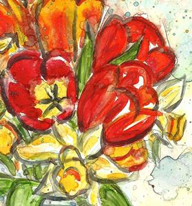 Detail Image for art April Flowers