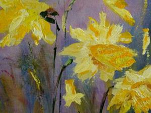 Detail Image for art Spring Daffodils