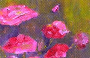 Detail Image for art Pinks in a Vase