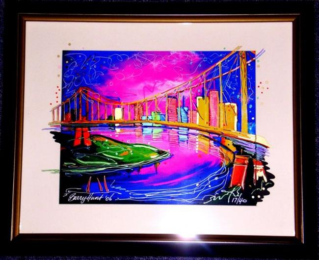 Art: Briz Vegas #2 Limited Prints see commissions by Artist Barry Hunt