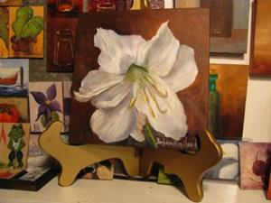 Detail Image for art White Amaryllis