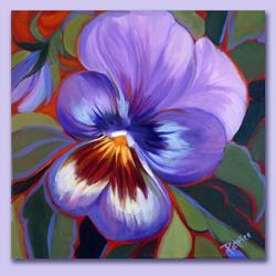 Art: Pretty Pansy by Artist Patricia  Lee Christensen