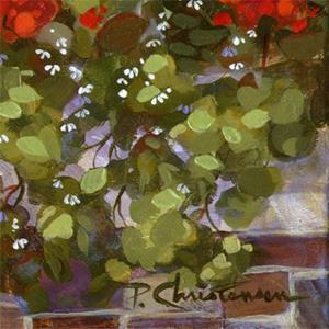 Detail Image for art Geraniums On The Edge