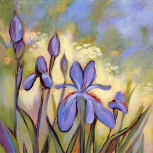 Detail Image for art Irises Homage to Vincent