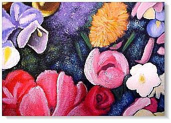 Art: Heaven Scent by Artist KiniArt