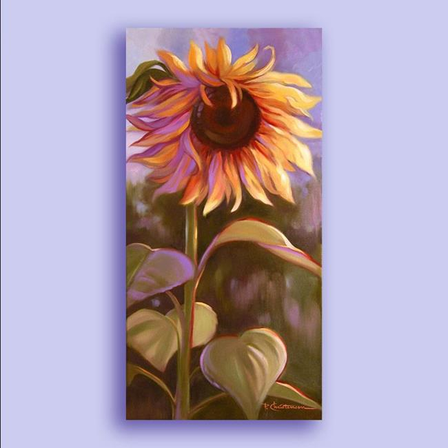 Art: Let Your Light Shine ~ Sunflower ~ Sold by Artist Patricia  Lee Christensen