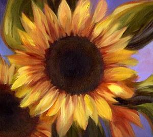 Detail Image for art Pike Place Sunflowers ~ Sold