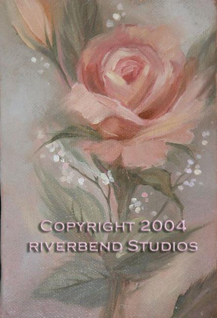 Art: Peach Rose by Artist Patricia  Lee Christensen