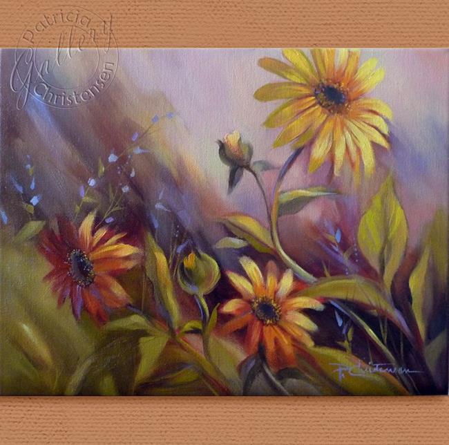 Art: Wild Colorado Sunflowers by Artist Patricia  Lee Christensen