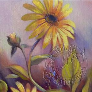 Detail Image for art Wild Colorado Sunflowers