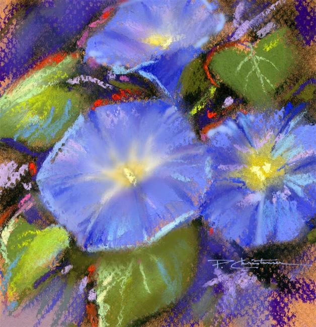 Art: Morning Glory by Artist Patricia  Lee Christensen