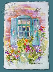 Art: Victorian Window ~ Sold by Artist Patricia  Lee Christensen