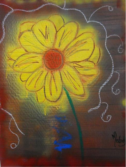 Art: A Single Susan II by Artist Melody Cole Gates
