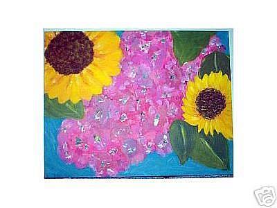 Art: Flowers II by Artist Jennifer Lee