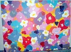 Art: Flowers of Spring by Artist Jennifer Lee