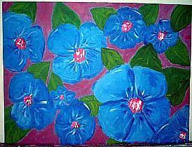 Art: Beautiful Blue by Artist Jennifer Lee