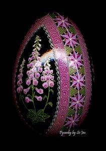 Detail Image for art Foxglove (Digitalis pupurea)