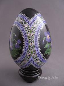 Detail Image for art Common Blue Violet (Viola sororia)
