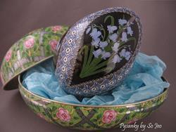 Art: Bluebells (Hyacinthoides non-scripta) by Artist So Jeo LeBlond