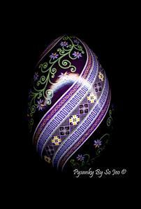 Detail Image for art Little Purple Flowers
