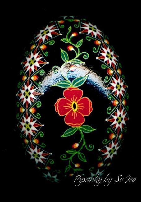 Art: More Poppies by Artist So Jeo LeBlond