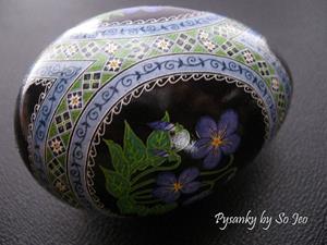 Detail Image for art Common Blue Violets