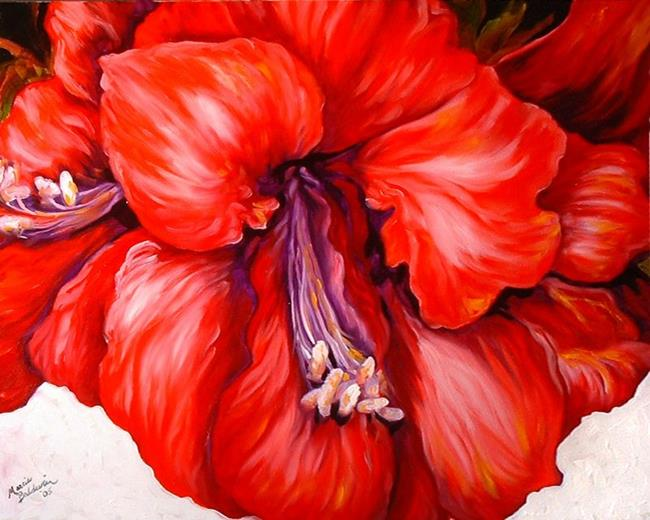 Art: AMARYLLIS by Artist Marcia Baldwin