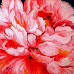 Art: PINK PEONY PINK by Artist Marcia Baldwin