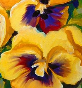 Detail Image for art PRETTY PANSIES