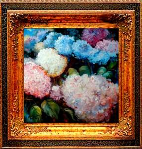 Detail Image for art RAINBOW HYDRANGEAS
