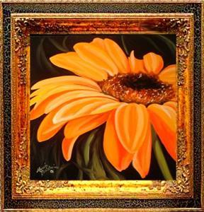 Detail Image for art A GERBERA DAISY YELLOW