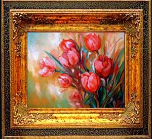 Detail Image for art TULIP BOUQUET
