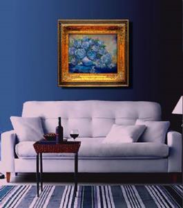 Detail Image for art BLUE HYDRANGEA
