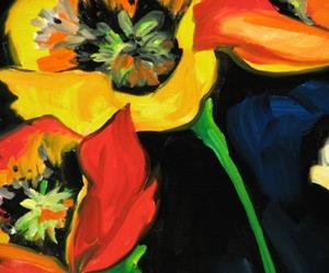 Detail Image for art EIGHT POPPIES