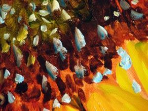 Detail Image for art SUNDOWN SUNFLOWER