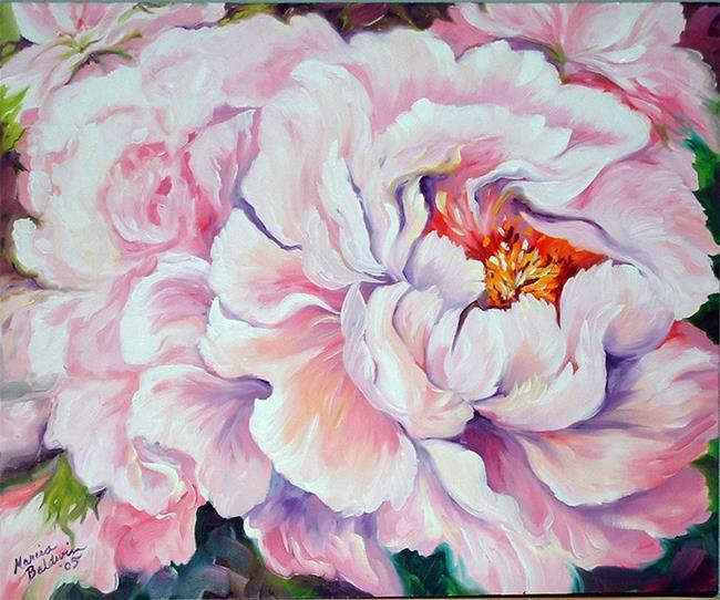 Art: Pink Peony II by Artist Marcia Baldwin