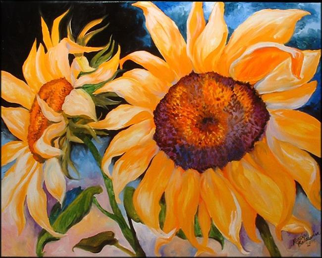 Art: Capturing the Sun by Artist Marcia Baldwin