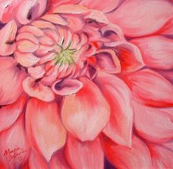 Art: Sweet Dahlia by Artist Marcia Baldwin