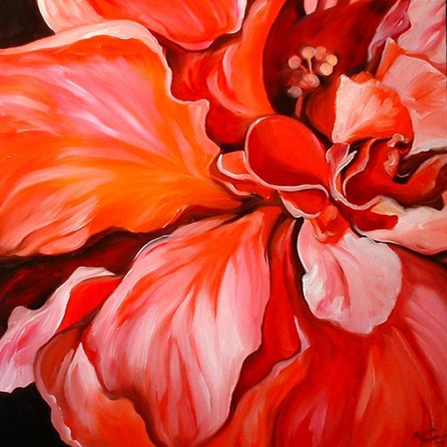 Art: RED THRILL by Artist Marcia Baldwin