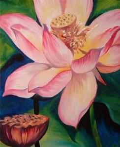 Detail Image for art GLOWING LOTUS 2