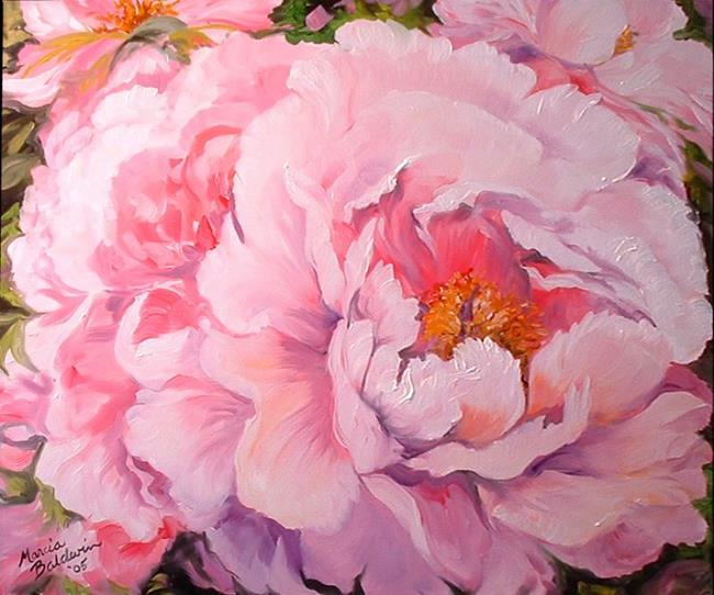 THE PINK PEONY - by Marcia Baldwin from FOTM Peonies art ...